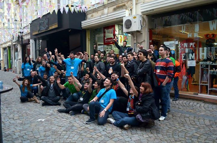 Game over for Plovdiv Game Jam @ 2015!